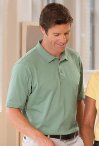 Men's 100% Combed Cotton Jersey Polo Shirt (Item CH180-S)
