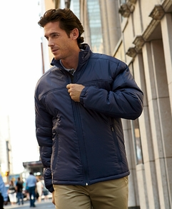 Men's 100% Nylon Polyfill Jacket