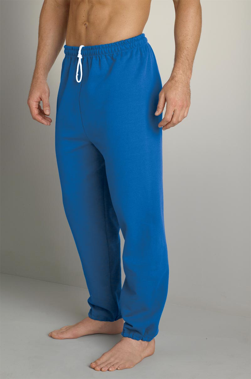 mens fleece sweatpants with drawcord