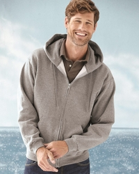 Jerzees Men's Fleece Hooded Zip Up Jacket