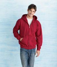 Gildan Men's 8 oz. Heavy Blend 50/50 Full Zip Hoodie