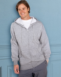 Men's Full-Zip Hoodie with Pouch Pockets