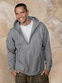 Hanes Unisex 9.7 oz. Ultimate Cotton Hooded Full Zip  (Item F280-L)