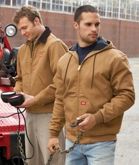 Men's Heavyweight  Duck Blanket  Lined Construction Jacket