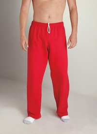 Men's Open Bottom Sweatpants with Drawcord - Best Seller