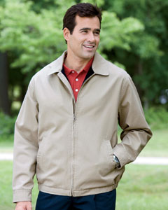 Men's Organic Cotton Club Jacket     (Item D725GR)