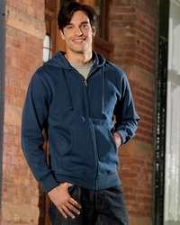 Men's Organic-Recycled Full-Zip Hoodie (Item EC5650-SA)