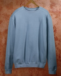 Men's Pigment-Dyed Fleece Crew Sweatshirt