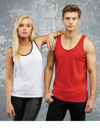 Men's / Women's 100% Combed Ringspun Cotton Jersey Tank