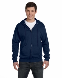 Men's - Women's 50/50 Cotton/Poly Fleece Zip Up Hoodie