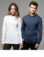 Unisex Light-Weight Cotton Hooded Shirt