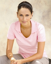 Women's Jersey Polo Shirt with Spotshield