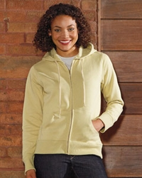 Women's Organic - Recycled Full-Zip Hoodie  with Pocket