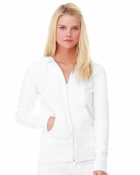 Women's Stretch French Terry Lounge Hooded Jacket