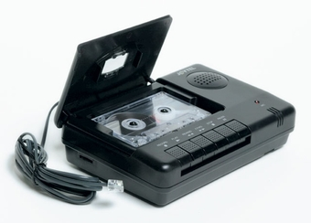 Cassette Tape Telephone Recorder - Voice Activation