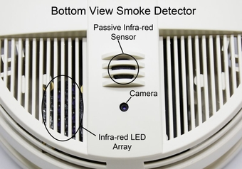 90-Day HD Hidden Camera in a Smoke Detector