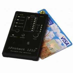 Credit Card Size Bug Detector