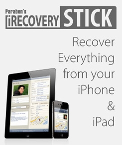 Paraben's iRecovery Stick for iPhone