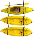 Hanging Kayak Strap Rack | Triple