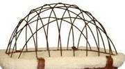 Solvit Wire Safety Cage Top for Wicker Basket