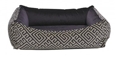 Avalon with Aubergine Lining Microvelvet Oslo Ortho Bed