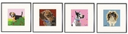 Beagle, Dachshund, Great Dane, Pekinese Print