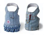 Blue Denim Dog Dress/Vest