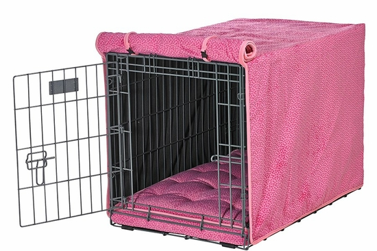 Bones Microvelvet Crate Mat and Crate Cover