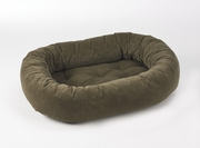 Bowsers Donut Bed - Mushroom Suede