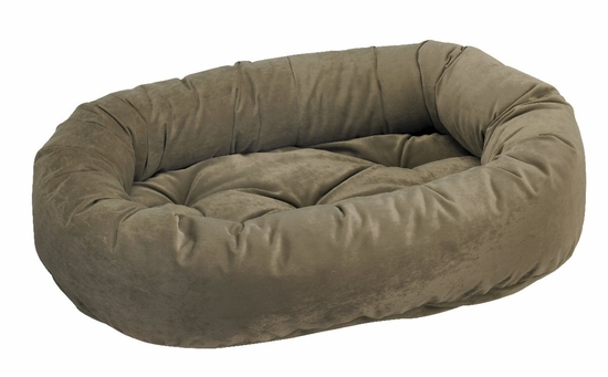 Bowsers Donut Bed - Thyme Microvelvet