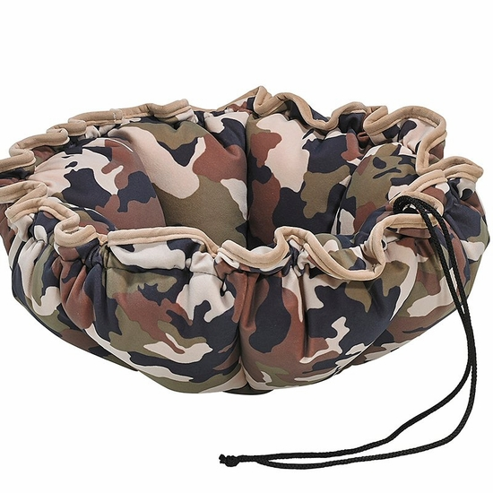Bowsers Camo Microfiber Buttercup Bed