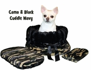 Pet Flys Camo/Black Reversible Snuggle Bug