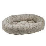 Bowsers Chantilly  Microvelvet Donut Bed