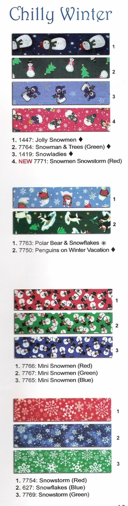Chilly Winter Collars, Leads & Harnesses by Elmo's Closet
