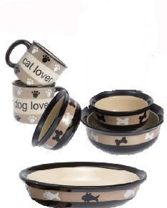 City Pets Bowls and Mug