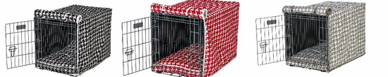 Checked Crate Mats & Crate Covers