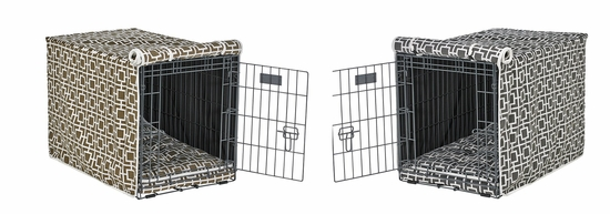 Courtyard Microvelvet Crate Mat & Crate Cover