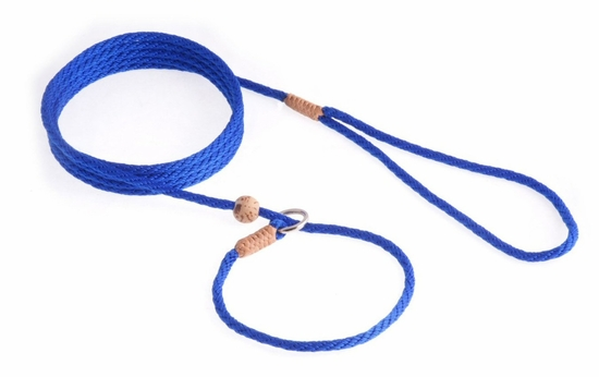 Deep blue Slip Lead with Stop