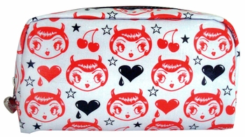 Devil Girl Makeup Bag