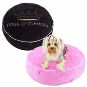 DOG Glam Crown Bed