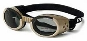 Doggles ILS Chrome with light Smoke lens