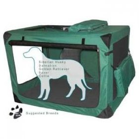Generation II Deluxe Portable Soft Crate - Large