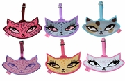 Kitty Luggage Tags