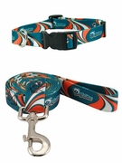 Miami Dolphins Collar or  Leash