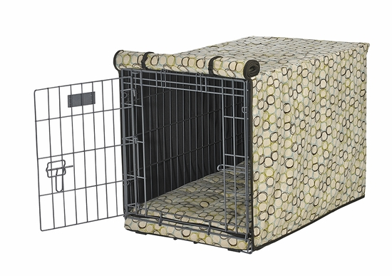 Milano Microvelvet Crate Mat & Crate Cover