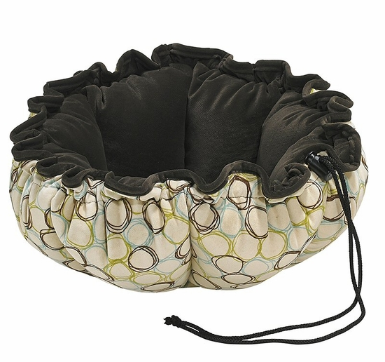 Bowsers Milano/Espresso Microvelvet Buttercup Bed