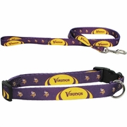 Minnesota Vikings Collar or Leash