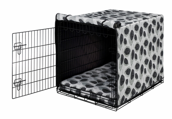 Morning Mist Crate Mat & Crate Cover