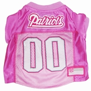 New England Patriots Pink Jersey