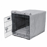 Nickel Weave Microvelvet Crate Mat &  Crate Cover